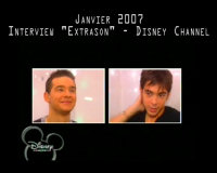 "Interview ""ExtraSon Disney Chanel"" : Préparation du 2ème album"