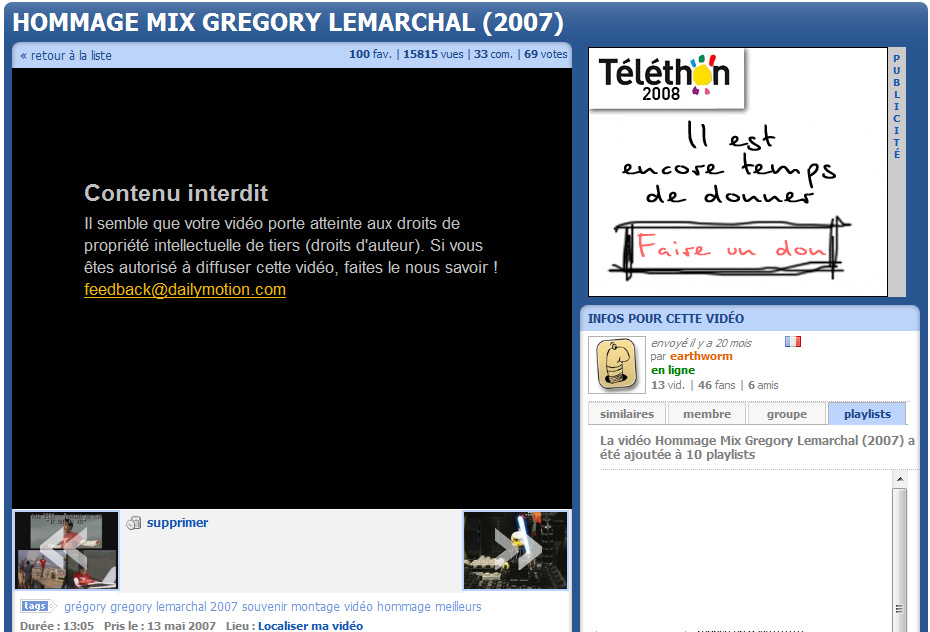 gregory lemarchal interdit