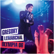 Gregory Lemarchal - Pochette Olympia 2006